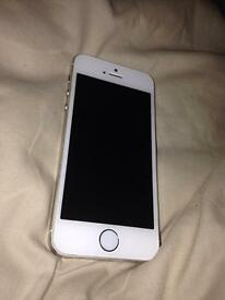 iPhone 5s gold 32gb with box