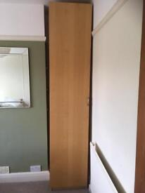 Ikea pax oak effect wardrobe