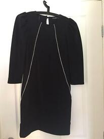 Size 8 black jumper dress