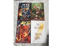 Comic, suicide squad, the flash and the wicked and the divine