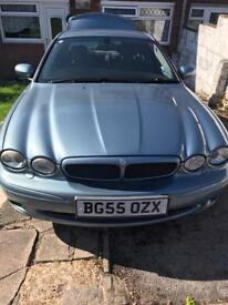 Jaguar X Type 2.5l Sport Premium 2005/55 plate AWD (can be driven but not advised, spares or repair)