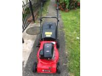 Self drive petrol lawnmower