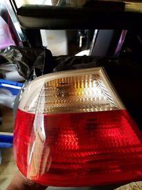 £50 BMW e46 complete rear lights