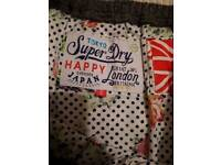 Superdry skirt size xl stretchy
