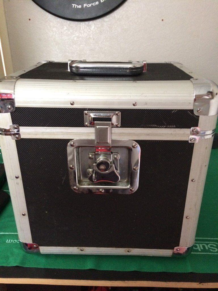 SOUNDLAB FLIGHT CASE HOLD 80 12'' PROFESSIONAL DJ CASE