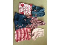 Girls baby clothes bundle age 6-9 months