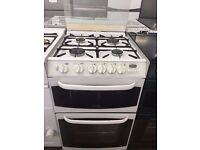 55CM WHITE CANNON GAS COOKER