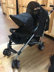 Pram, Double pram, Twin double pushchair mothercare