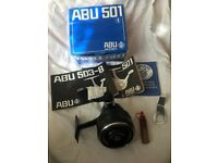 Vintage Abu 501 Reel