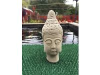 Garden Stone Buddha Statue Bust.