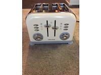 Toaster. Morphy Richard 4 slice toaster