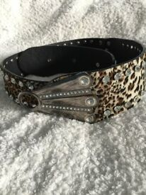 Brand new waist belt with beads
