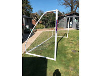SAMBA 12FT X 6FT FOOTBALL GOAL - NET - BAG - USED £45 ono