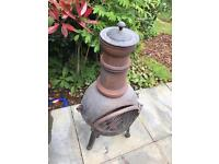 La hacienda cast iron chiminea