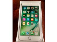 Apple iphone 6 Plus, Silver, 64GB, unlocked, including box