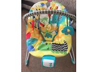Baby bouncer chair seat