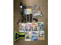 Black Nintendo Wii Bundle with lot of extra's