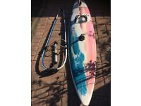 Windsurfer - GOYA Fanatic PM81 with all gear.