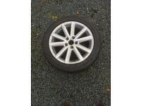 "VW Passat 17"" Alloy Wheel with Tyre"