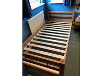John Lewis Pinewood Stylish Single Bed Frame Only For Sale Bargain