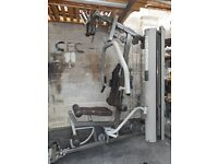 Professional multi gym IRON GRIP IGS 16 with 90 kg weights stack, cable crossover