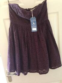NEW Jack Wills Purple Dress Size 14