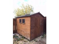 6ft X 8ft wooden shed. £100 on collection. No offers.