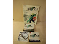 Final Fantasy 7 VII Playstation with Brady Guide