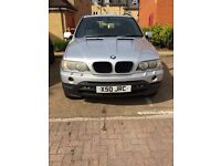 BMW X5 private plates