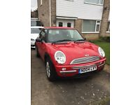FOR SALE Red Mini One, 1.6, 65000 miles, 2004