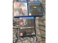 3 ps4 game for £30 or £10 each