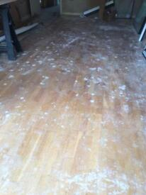 Real wood flooring 17 m2 approx