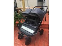 Mountain buggy duet v2.5 flint (1 year old from john lewis)