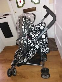 Tippitoes Single Seat Pushchair
