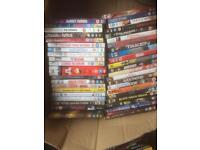 Box of DVDs wide variety £20