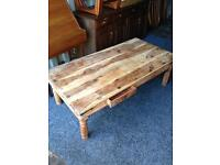 Large Solid Pine Coffee Table Shabby Chic project