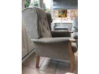 High seat Arm Chair