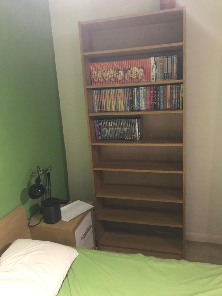 Ikea Billy Bookcase With Extra Shelves