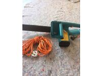 black and decker chainsaw only used a couple of times