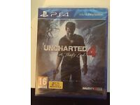 Uncharted 4 - Brand new and sealed copy