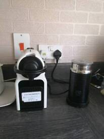Nespresso coffee machine & Aeroccino