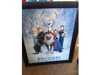 Frozen framed picture *free*
