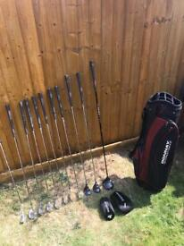 Donnay golf set - excellent condition