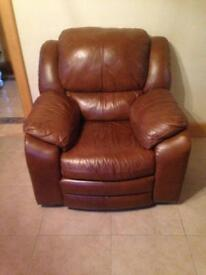 3 2 1 fully reclining leather suite
