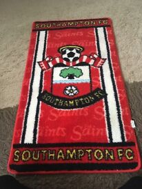 Saints bedroom mat