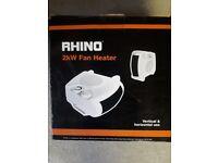 Rhino Fan Heater 2Kw - New