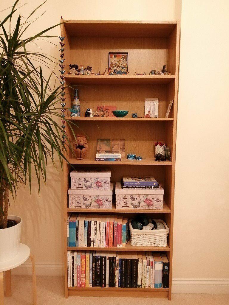 Ikea Billy Bookcase Oak Veneer In Horfield Bristol Gumtree
