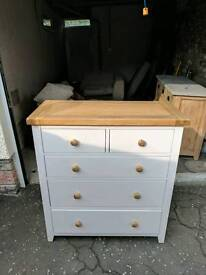 Beautiful Hardwood Chest of Drawers (Thomsons World) Perfect Condition - £300 RRP