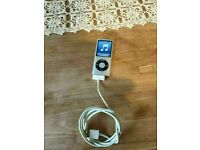 Apple iPod nano 4th Generation Blue (8GB) A1285 good condition and fully working