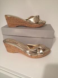 CARVELA Gold Ladies Sandals